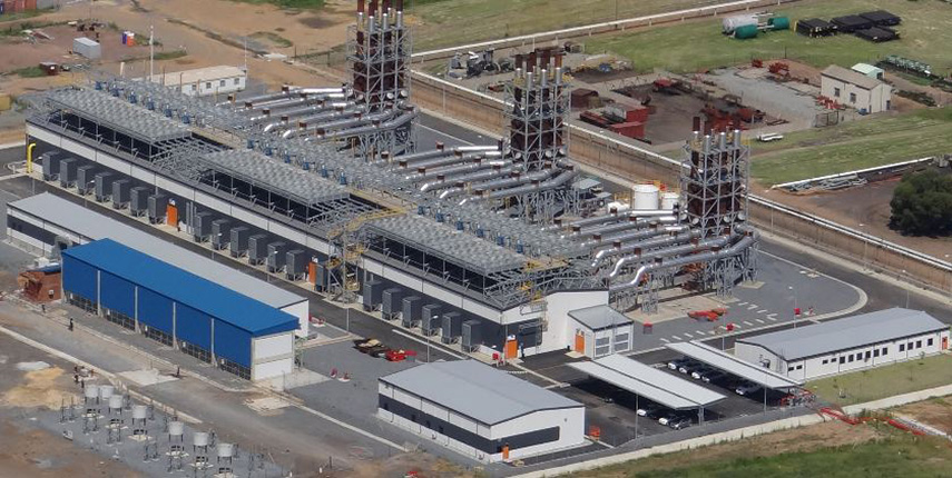 Sasolburg Gas Power Plant