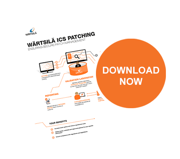 Wärtsilä ICS Patching Infographic