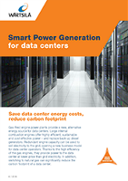 Smart Power Generation for Data Centers - Leaflet