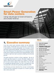 Smart Power Generation for Data Centers - White Paper