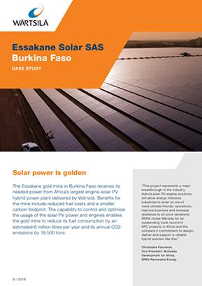 Essakane Solar SAS Burkina Faso