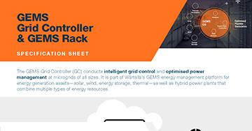 GEMS Grid Controller & GEMS Rack