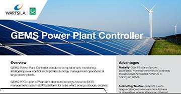GEMS Power Plant Controller