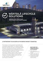 Wärtsilä Lifecycle Solutions Brochure