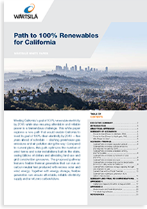 Download Business White Paper – Path to 100% Renewables for California