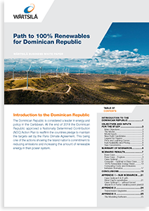 Path to 100% Renewables for Dominican Republic