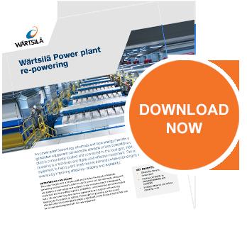 Wärtsilä Power plant re-powering