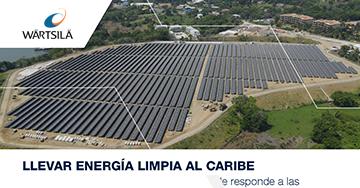 Llevar energía limpia al Caribe