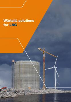 Wärtsilä solutions for LNG
