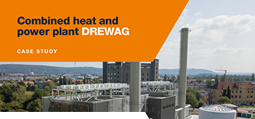 Combined heat and power plant DREWAG