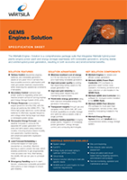 GEMS Engine+ Solution Specification Sheet