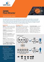 GEMS Fleet Director Specification Sheet