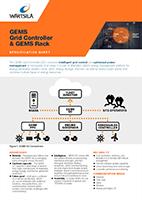 GEMS Grid Controller & GEMS Rack Specification Sheet