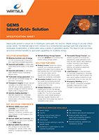 GEMS Islandgrid+ Solution Specification Sheet