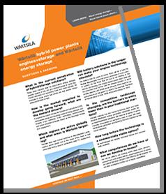 Wärtsilä hybrid power plants