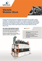 Wärtsilä Modular block leaflet