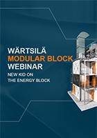 Wartsila Modular Block webinar presentation