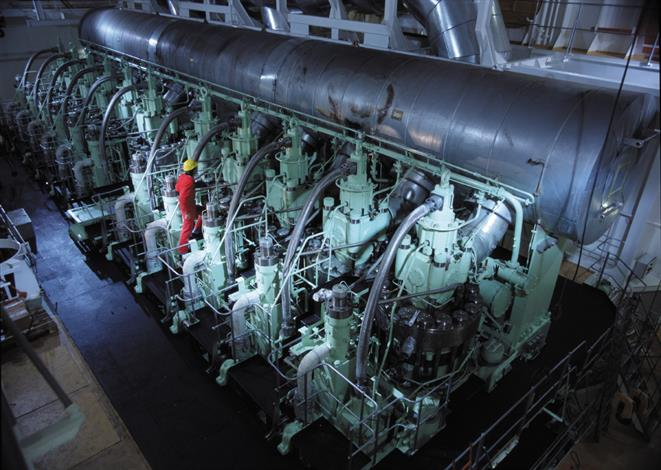 Wärtsilä NACOS PCS Platinum - Engine room