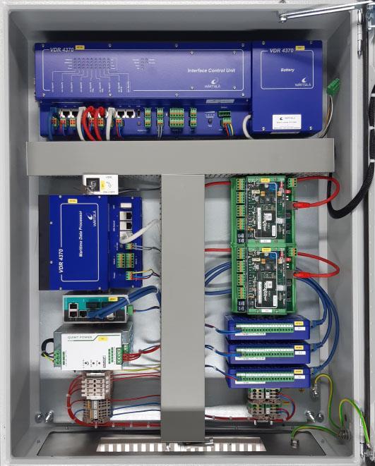 VDR 4370 cabinet open