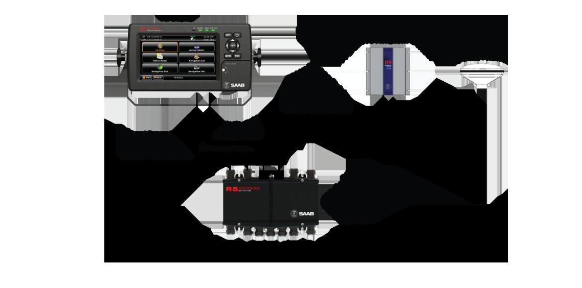 Wärtsilä R5 Navigation System - compact marine navigation system