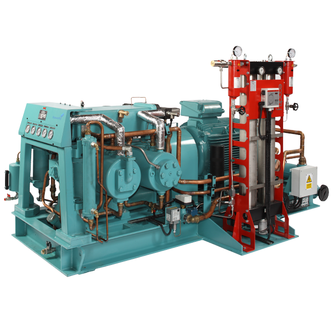 High Pressure Gas Compressor : Wärtsilä hamworthy high pressure air gas compressors