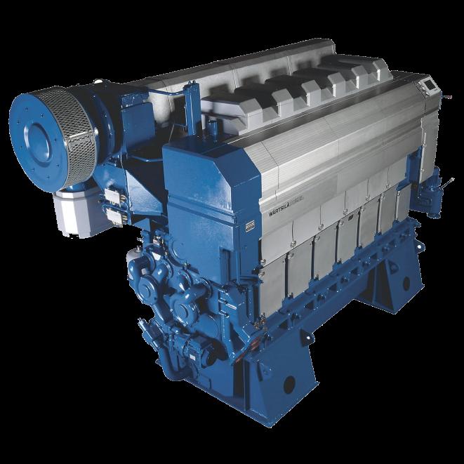 W rtsil 32 diesel engine for Diesel motor oil in gas engine