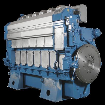 Wärtsilä 32 - diesel engine
