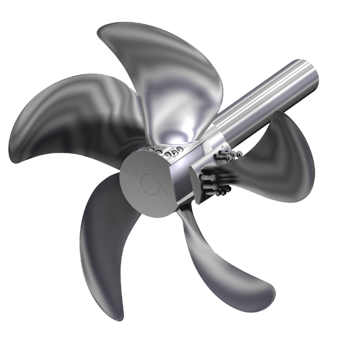 Built up Propellers