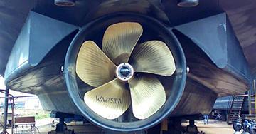 Wärtsilä Coastal and Inland Waterway Propellers