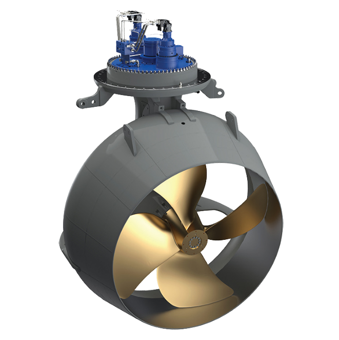 underwater mountable thruster