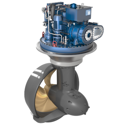 Wartsila Steerable Thrusters Superior Hydrodynamic Performance