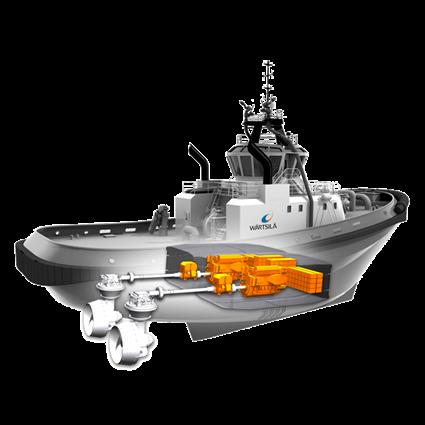 Wärtsilä HY 2 - a fully integrated hybrid power module