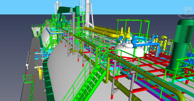 Cargo handling systems for fully preassurized gas carrier