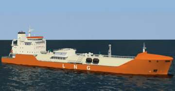LNGC Bunkering Vessel