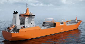 LNGC Shuttle Tanker