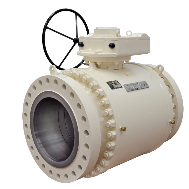Ball - Trunnion Mounted - Pipeline - C B4 trunnion mounted ball valve
