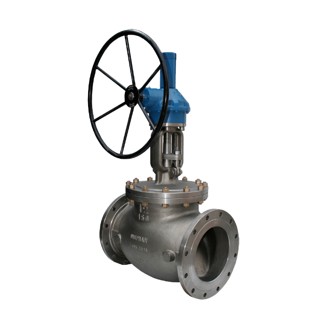 Globe valve - Shipham 12 inch