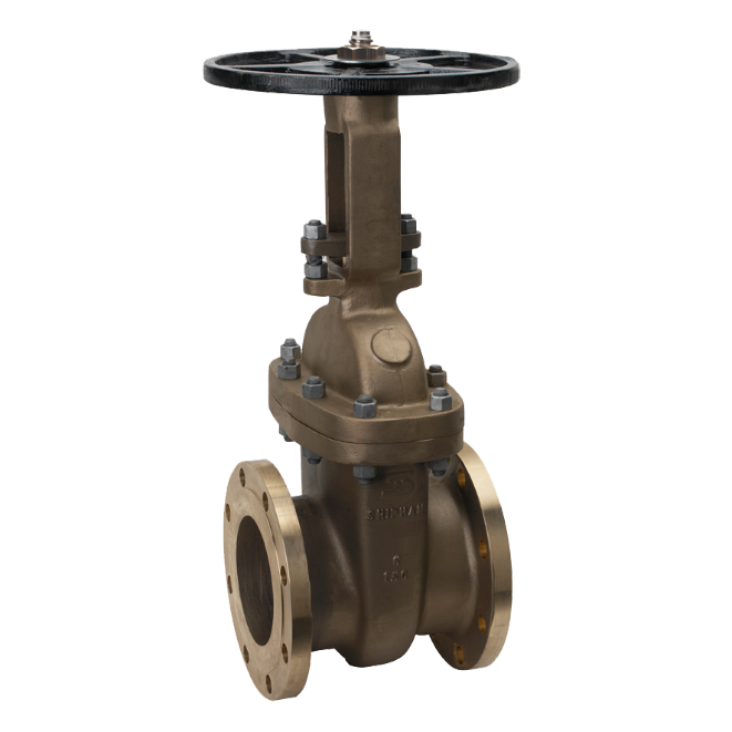 Gate - Wedge - Shipham Valves UL &  FM Approved Nickel Aluminium Bronze Gate Valve