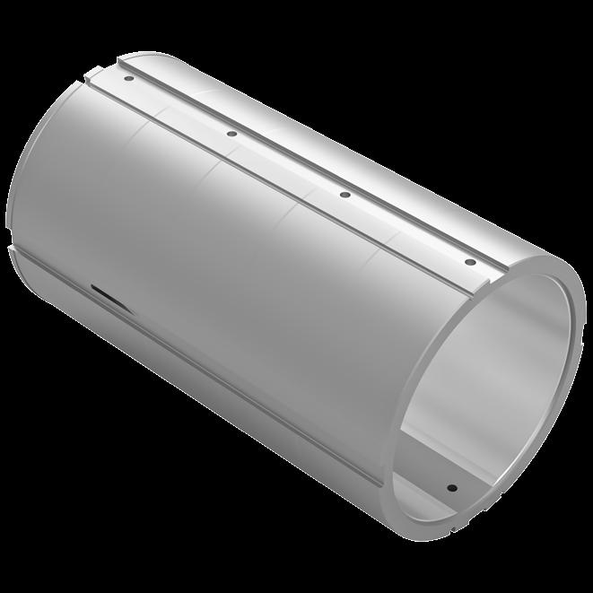 Wärtsilä Sternsafe white metal bearing