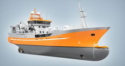 VS 6110 Purse Seiner / Trawler, Ship Design
