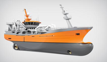 VS 6118 Purse Seiner / Trawler, Ship Design
