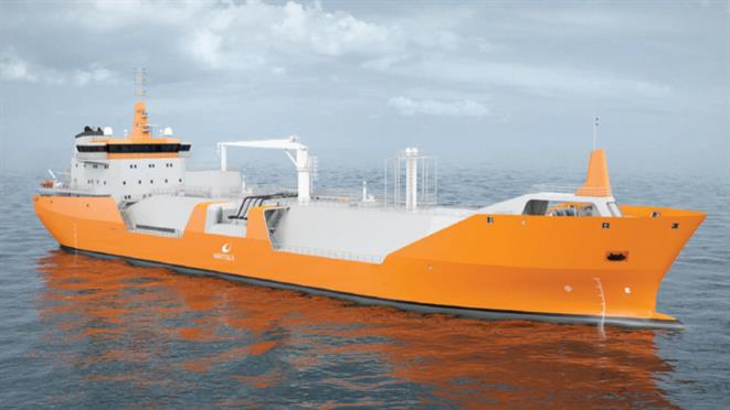 WSD59 10K LNG Bunkering Vessel 10,000 m3