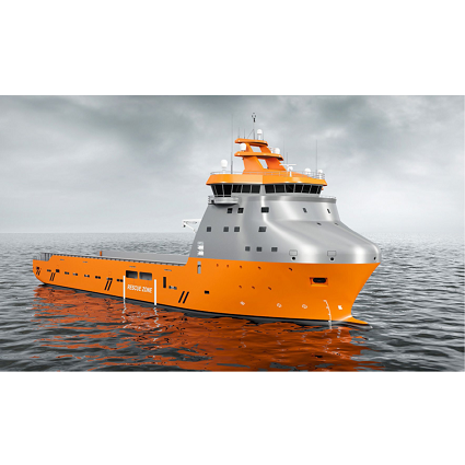 VS 4412 PSV DF LNG Artic, Ship Design