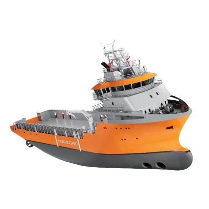 WSD 600 PSV, Ship Design