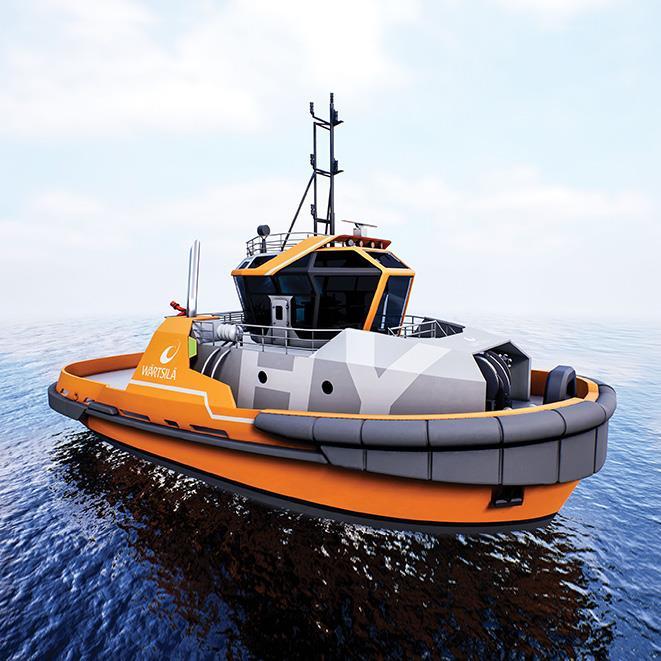 WÄRTSILÄ HY Harbour TUG - 40t BP