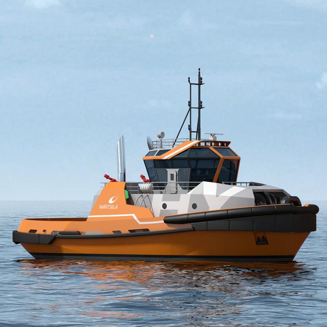 WÄRTSILÄ HY Harbour TUG - 50t BP