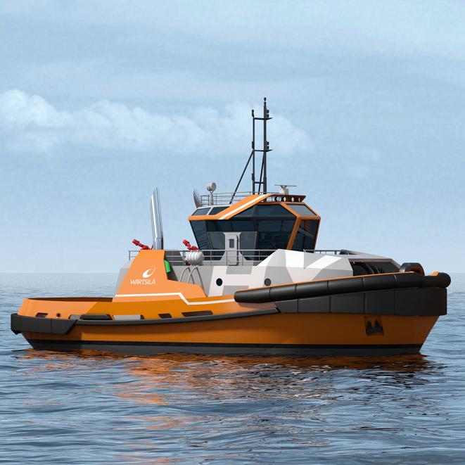 WÄRTSILÄ HY Harbour TUG - 75t BP