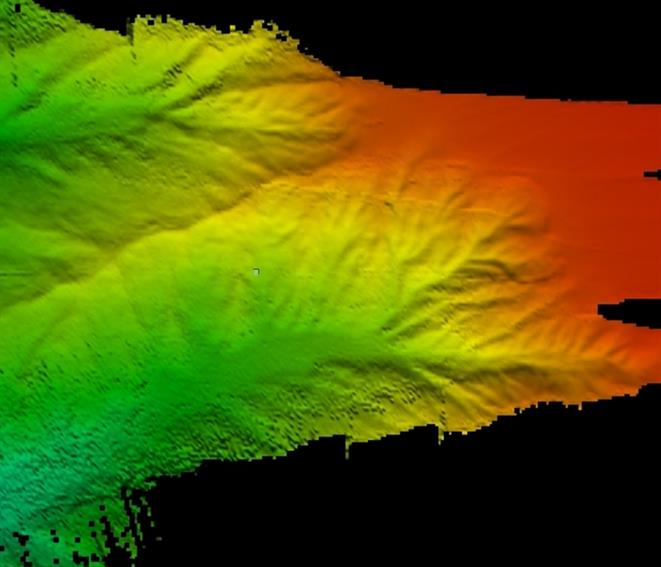 Wärtsilä ELAC SeaBeam 3030 - Bathymetric data, acquired in the Mediterranean Sea