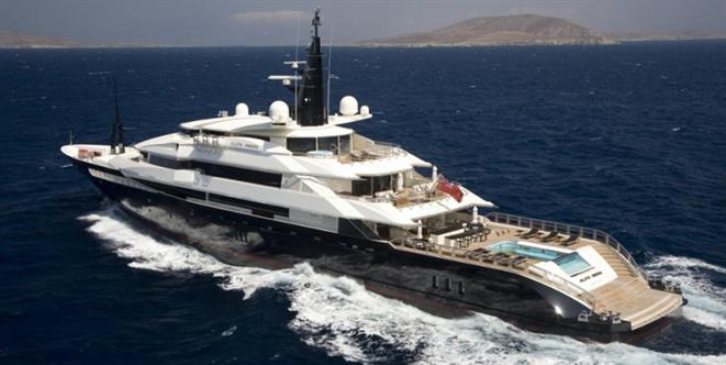 Alfa Nero courtesy of Oceanco
