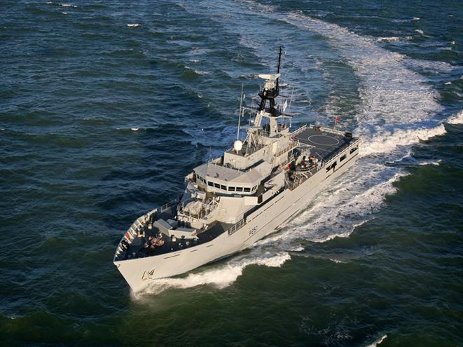HMS Clyde Courtesy BAE Systems